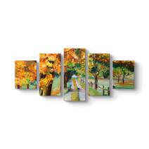 Ağaçlar Arasında Yol Tablosu