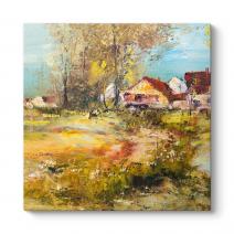 Manzara Çiftlik Tablosu