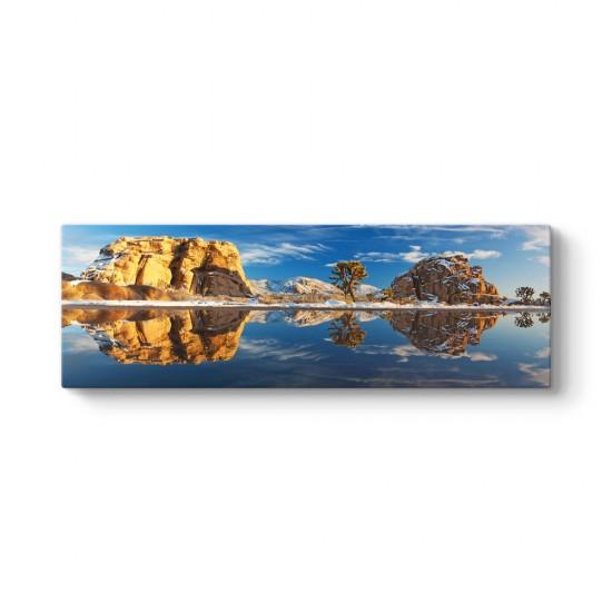 Karlı Göl Tablosu