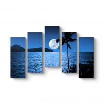 Dolunay Ay Işığı Tablosu