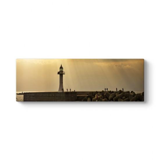 Deniz Feneri Panorama Tablo