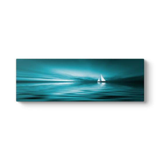 Beyaz Yelkenli Tablosu