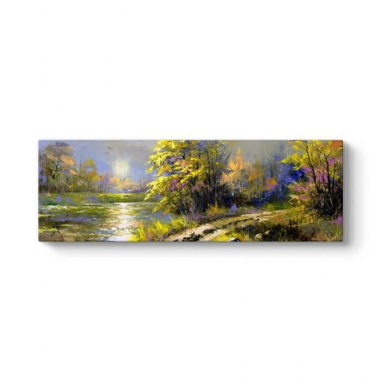 Art Oil Panorama Tablo