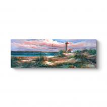 Deniz Feneri Soyut Tablo