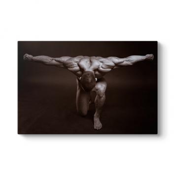 Muscles Canvas Tablo
