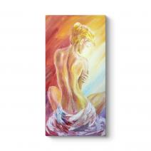 Oil Art Nude Tablo