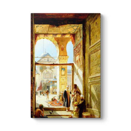 Büyük Emevi Camii Kapısı Tablosu