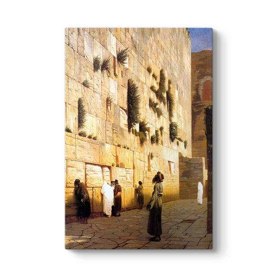 Ağlama Duvarı Kudüs Tablosu
