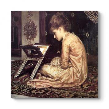 Kitap Okuyan Kız Tablosu