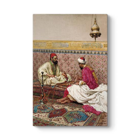 Osmanlıda Tavla Oynayanlar Tablosu