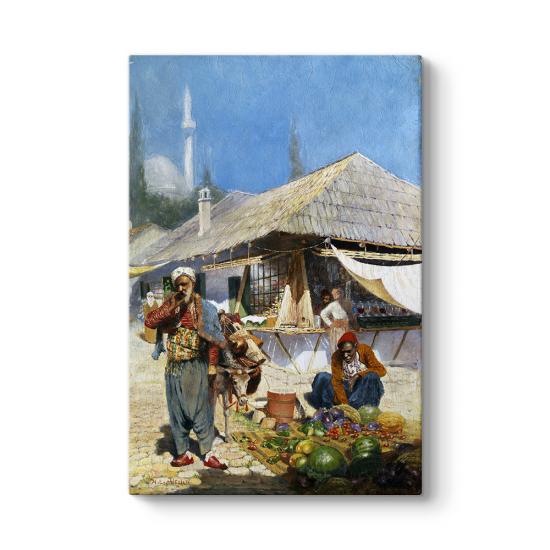 Osmanlıda Pazar Tablosu