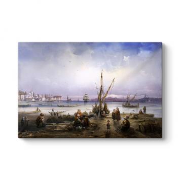 Osmanlıda İskele Kıyısı Tablosu