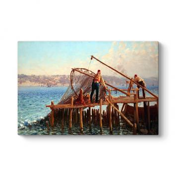 Fausto Zanora - Balıkçılar Tablosu