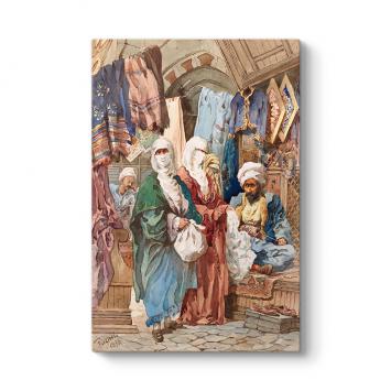İpek Çarşısı Osmanlı Tablosu