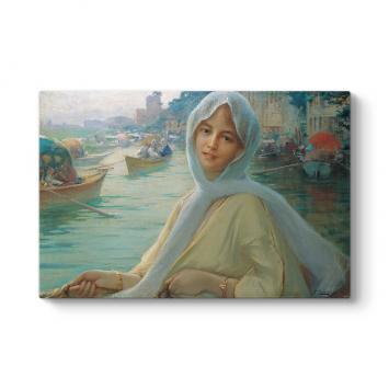 Fausto Zanora - Elçinin Kızı Tablosu