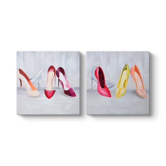 Ayakkabılar 2 Parçalı Tablo