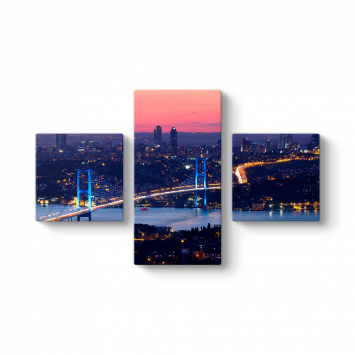 İstanbul FSM Köprü 3 Parçalı Tablo