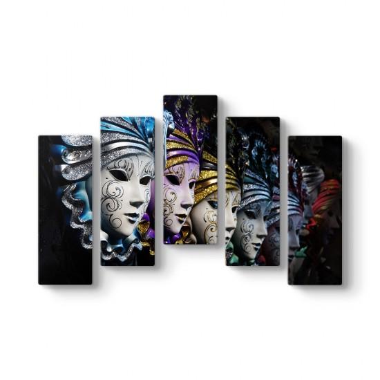Maskeler 5 Parça Tablo