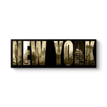 New York Panorama Tablo