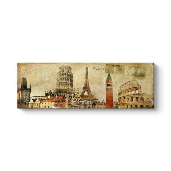 Eyfel - Pisa - Roma Tablosu