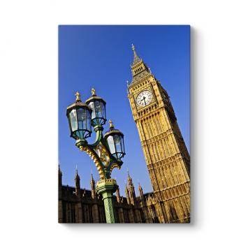 Big Ben Saat Kulesi Tablosu