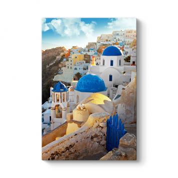 Santorini Evler Tablosu