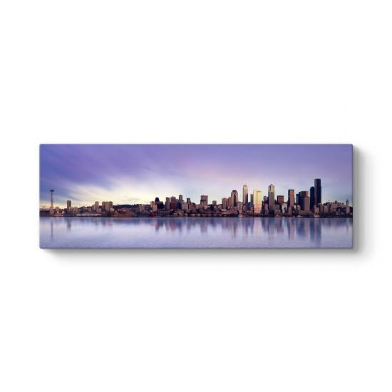Seattle Washington Panorama Tablo