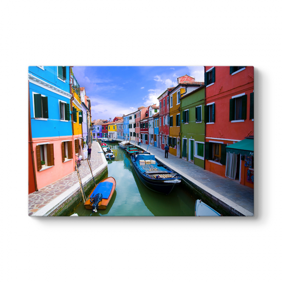 Burano Venedik Tablosu