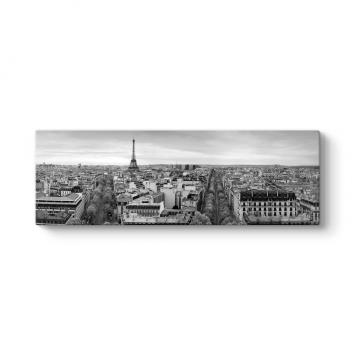 Paris Panorama Manzara Tablosu