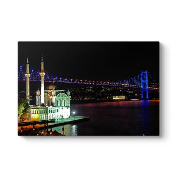 Ortaköy Camii ve Köprü Tablosu