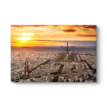 Paris Landscape Tablosu