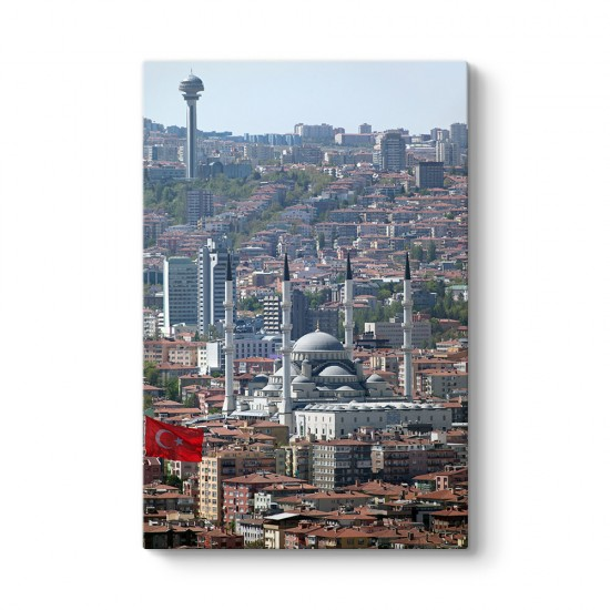 Ankara Manzarası Tablosu