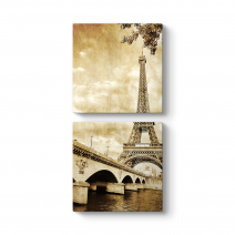 Vintage Paris Tablosu