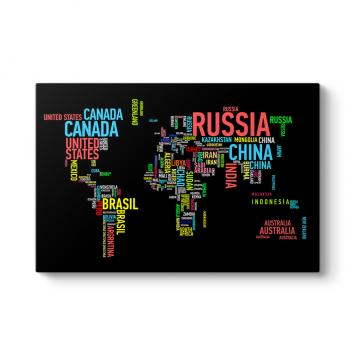 Dünya Haritası Tag Tablosu