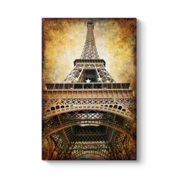 Eyfel Kulesi Vintage Tablo