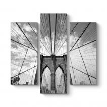 Brooklyn Köprüsü Halatlar Tablosu