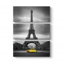 Eyfel ve Sarı Araba Tablosu