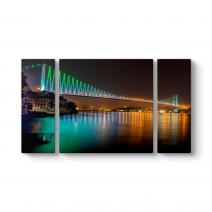 Boğaziçi Köprüsü Gece Tablosu