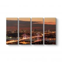 Boğaziçi Köprüsü Manzara Tablosu