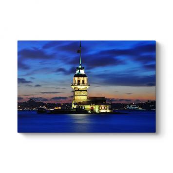 Mavi Kız Kulesi Tablosu