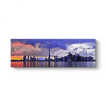 Kanada Toronto Panorama Tablosu