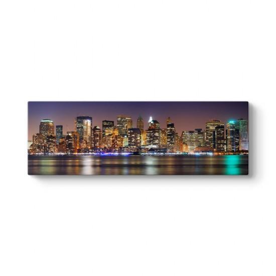 New York Şehir Panorama Tablosu