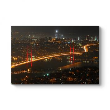 İstanbul Boğaz Manzara Tablosu