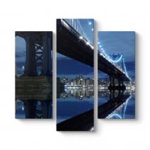 Brooklyn Köprüsü Gece Tablosu