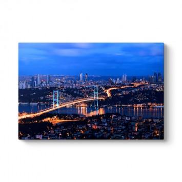İstanbul Gece Köprü Tablosu