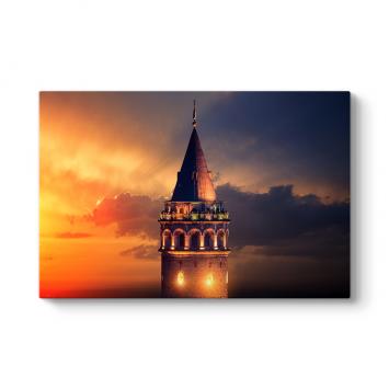 Galata Kule Tablosu