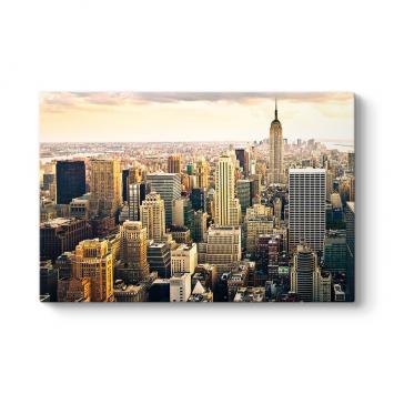 New York Manzarası Tablosu