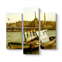 Galata Köprüsü Manzara Tablosu