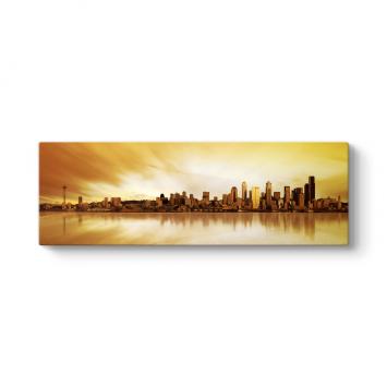 New York Sunset Tablosu
