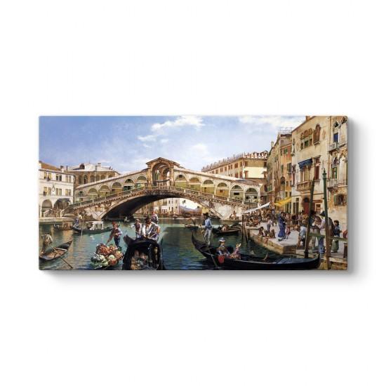Tarihi Venedik Panorama Tablosu